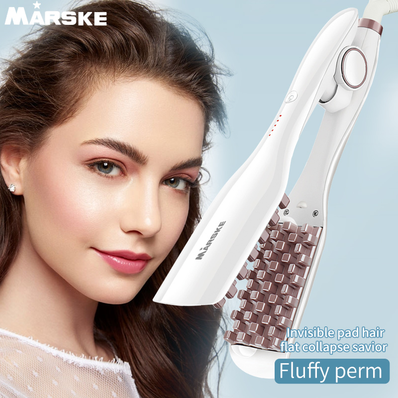 2020 Newest Hair Fluffer Hair Curler Hair Comb Super Tourmaline Ceramic Curling Iron Women And Men
