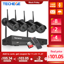 System-Kits Surveillance-System Cctv-Security-Camera Wifi Techege Outdoor Wireless Record