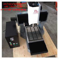 DIY mini cnc router LY 3040 full cast iron cnc engraving machine for metal 3 axis cutting drilling