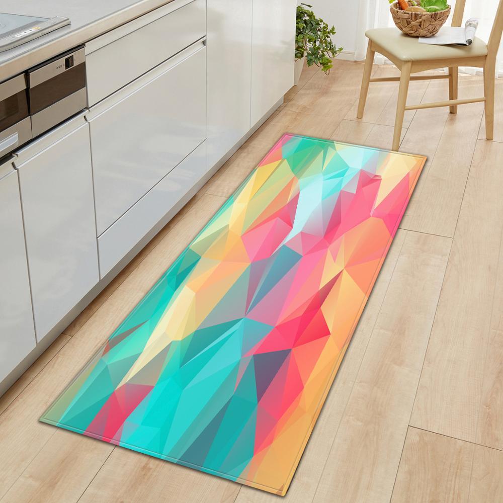 Colorful Stars Doormat Long Floor Mats Carpets For Living Room Kitchen Bathroom Rugs Bedroom Doormat Tapetes Para Casa Sala