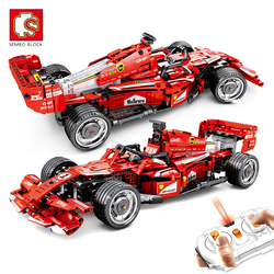 SEMBO Remote Control Racing Car Building Blocks Creator Expert RC Vehicle Bricks Set Model Kids Gifts Children Toys