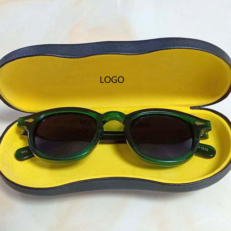 Man Woman Fashion Band Johnny Depp Polarized Sunglasses High Quality Vintage Acetate Frame Outdoor Sunglasses 010