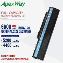 BLACK 5200mAh battery  For Acer Aspire One A110 A150 D210 D150 D250 ZG5 UM08A31 UM08A32 UM08A51 UM08A52 UM08A71 UM08A72 UM08A73 pitatel bt 046hhbl аккумулятор для ноутбуков acer aspire one a110 a150 a250 d150 d250