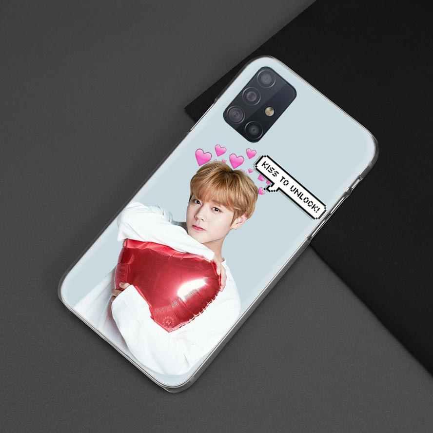 Istiyorum bir Kpop çocuk durumda Samsung Galaxy A51 A71 A21 M31 M51 A01 A70s A50s S20 Ultra 5G sert telefon Coque Sac