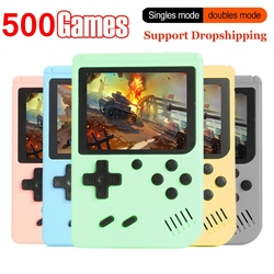 500 Games Pocket Game Console Retro Mini Handheld Gaming Player 8 Bit Retro Consoles LCD Video Gaming Console Adults Kids Gifts