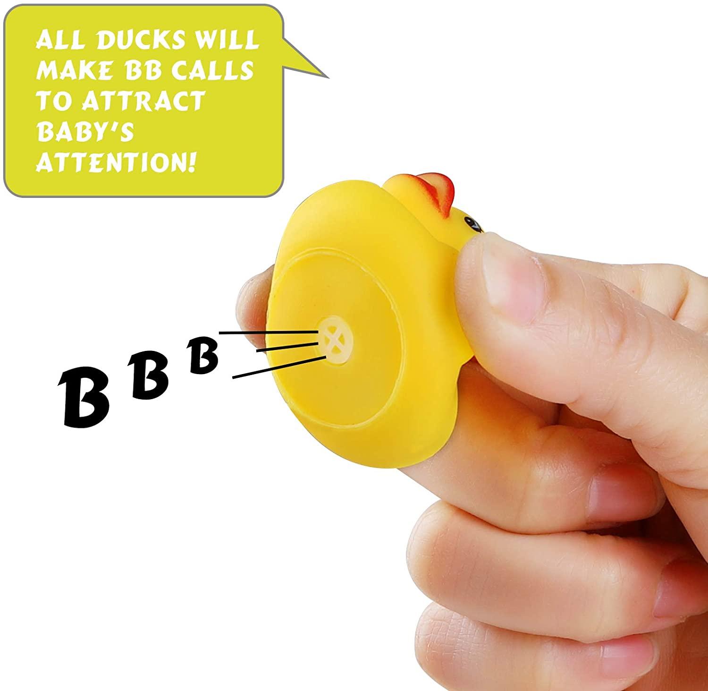 Brinquedos de banho de borracha do pato