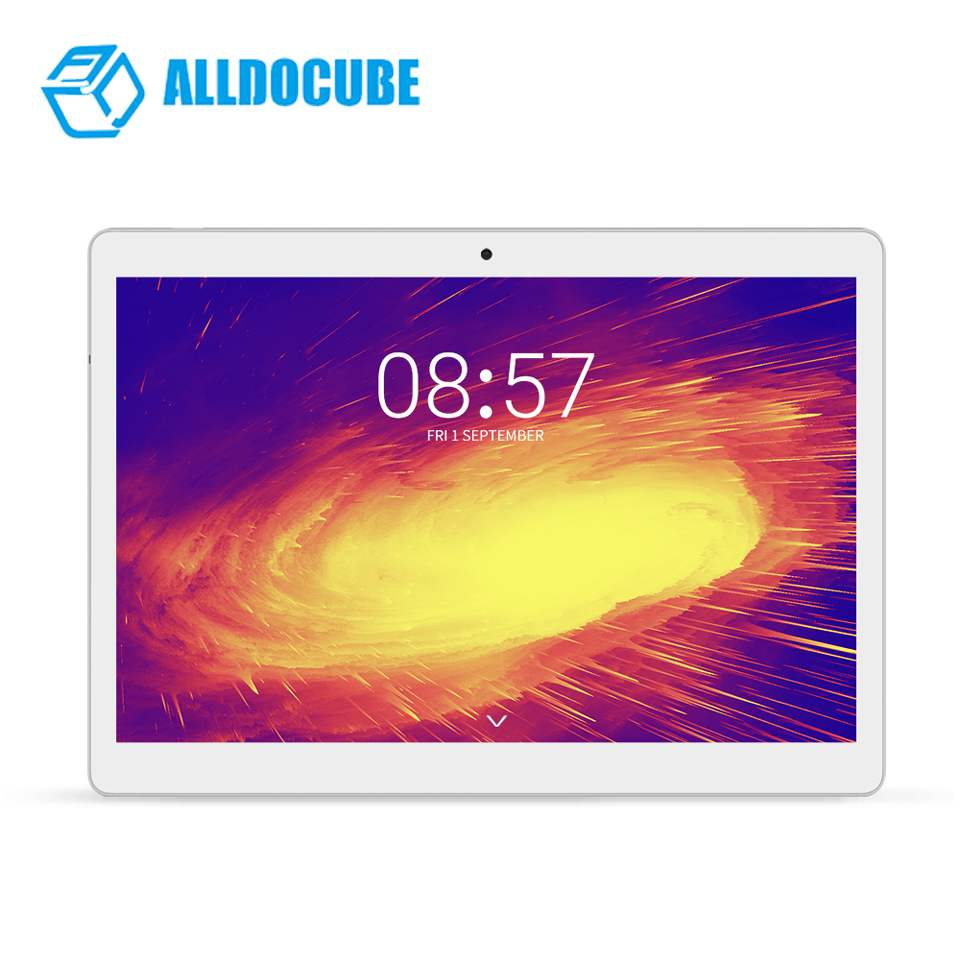 ALLDOCUBE M5  4GB RAM 64GB ROM MT6797 Helio X20 Deca Core 10.1 Inch Android 8.0 Tablet With OTG-TF Card Function