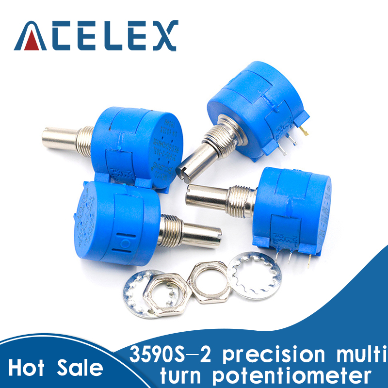 3590S Multiturn Potentiometer 500 1K 2K 5K 10K 20K 50K 100K ohm Potentiometer Adjustable Resistor 3590 102 202 502 103|Instrument Parts & Accessories|   - AliExpress