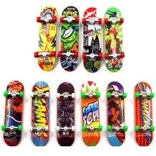 Child Toys Mini Anti-stress Fingerboard Skate Boarding Toys Gift Fingertip Toy Skate Hot Selling
