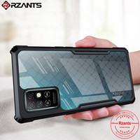 Rzants Voor Infinix Note 8 Case Hard Bv Kever Shockproof Slim Crystal Clear Cover Funda Behuizing