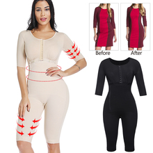 Slimming Bodysuit Body Shaper Post Surgery Seamless  Compression Garment Full Shapewear Colombianas Reductoras