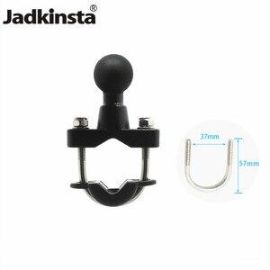 Image 1 - Jadkinstaオートバイハンドルバーレールマウント37ミリメートル幅uボルト取付ベース1インチボール移動プロgps