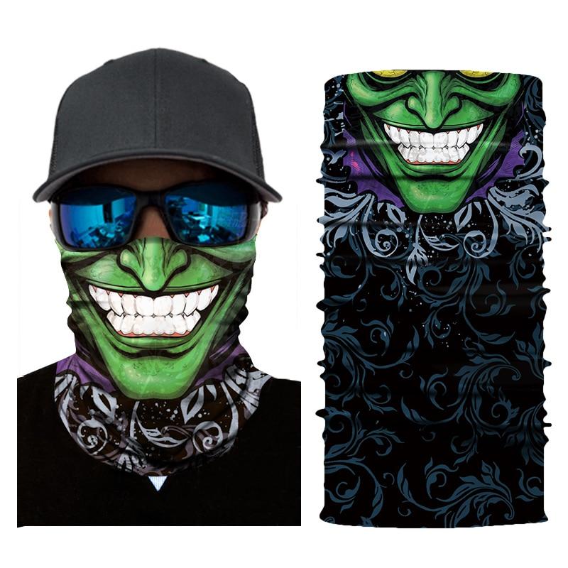 Geist Motorrad Biker Gesicht Maske Balaclava Kopf Schal Neck Masque Maske Schädel Halloween Gesicht Schild Mascara Moto Reiten Bandanas