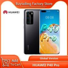 100% Originele Global Versie Huawei P40 Pro 5G Mobilephone 6.58 ''8Gb 256Gb Kirin 990 Octa Core 40W Supercharge Gebaar Sensor