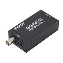 Mini convertidor SDI a HDMI 3G, adaptador DC 5V 1A con Cable 3G SDI, Cable HDMI, BNC a HDMI, convertidor de vídeo