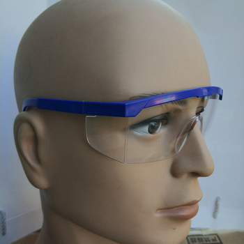 New Working Safety Glasses Made With Plastic Material For Lab And Work Use