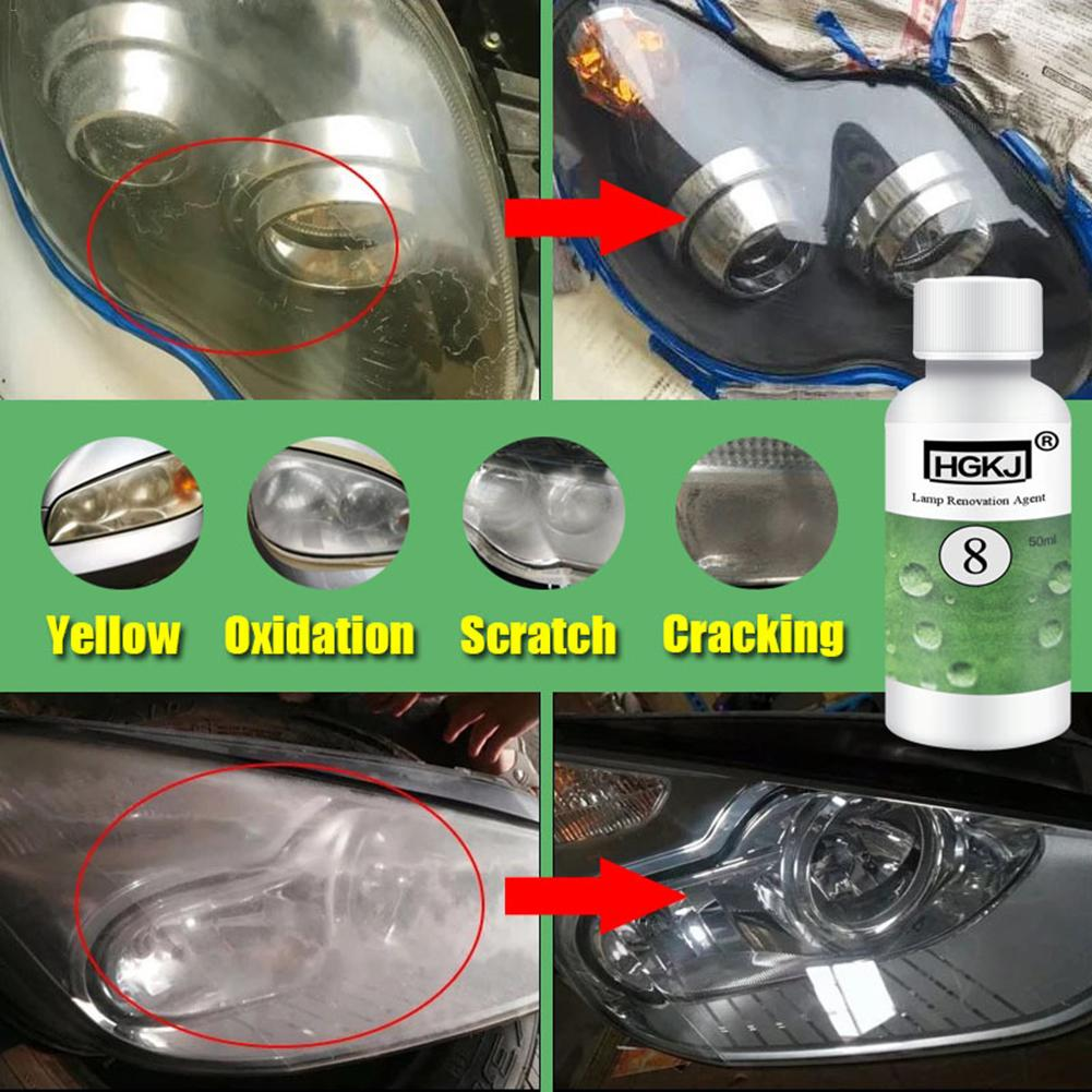 Car-Headlight Fluid Car Polishing Restoration-Kit Car-Care Refurbishment-Agent HGKJ-8
