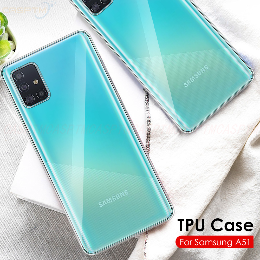 Shockproof Phone Cover Transparent Soft TPU Case For Samsung A51 A71 Back Cover For Samsung Galaxy M30S Cases