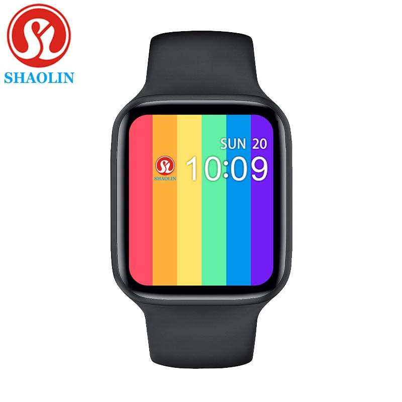 Умные часы с Bluetooth для apple watch Series 6 5 4 iphone Android Смарт-часы для мужчин и женщин Смарт-часы 38 мм 40 мм 42 мм 44 мм