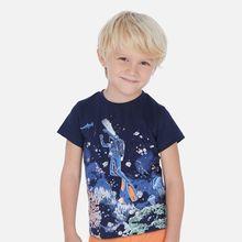 Mayoral-Camiseta con estampado que brilla en la oscuridad