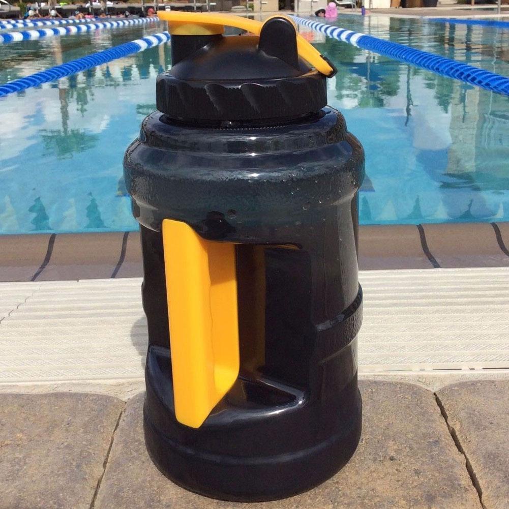 Большая Спортивная бутылка для воды, 2,5 л, для фитнеса и спортзала