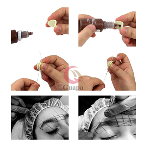 Image 5 - Sopracciglia Corde Senza Pre Ink Microblading Sopracciglia Strumenti di Posizionamento di Mappatura Pmu Accessori per Ogni Scatola Contiene 65 Ft di Stringa
