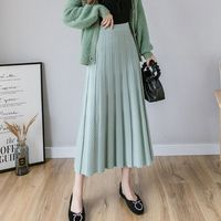 Трикотажная юбка-миди с узором Цена 1085 руб. ($13.97) | 15 заказов Посмотреть