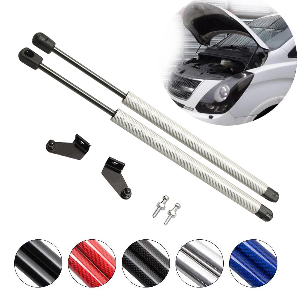 Para Hyundai Grand Starex H1 2007-2019 capucha delantera Bonnet fibra de carbono modificar los puntales de Gas amortiguador soporte amortiguador