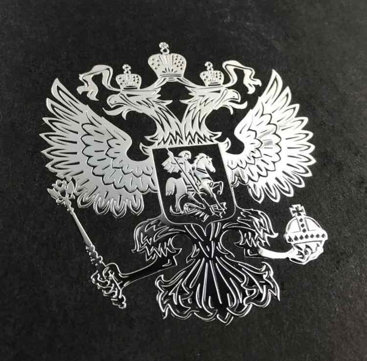 Calcomanías adhesivas con emblema de águila rusa para Mercedes Benz W201 GLA W176 CLK W209 W202 W220 W204 W203 W210 W124 W211 W222