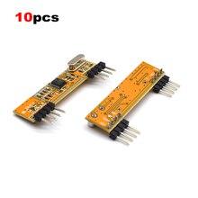 ที่ดีที่สุด 10PCS RXB6 433 MHz Superheterodyne โมดูลรับสัญญาณไร้สาย