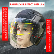 Anti-Fog-Film Motorcycle-Helmet Visor Nano-Coating Durable for Pet-Practical Classic