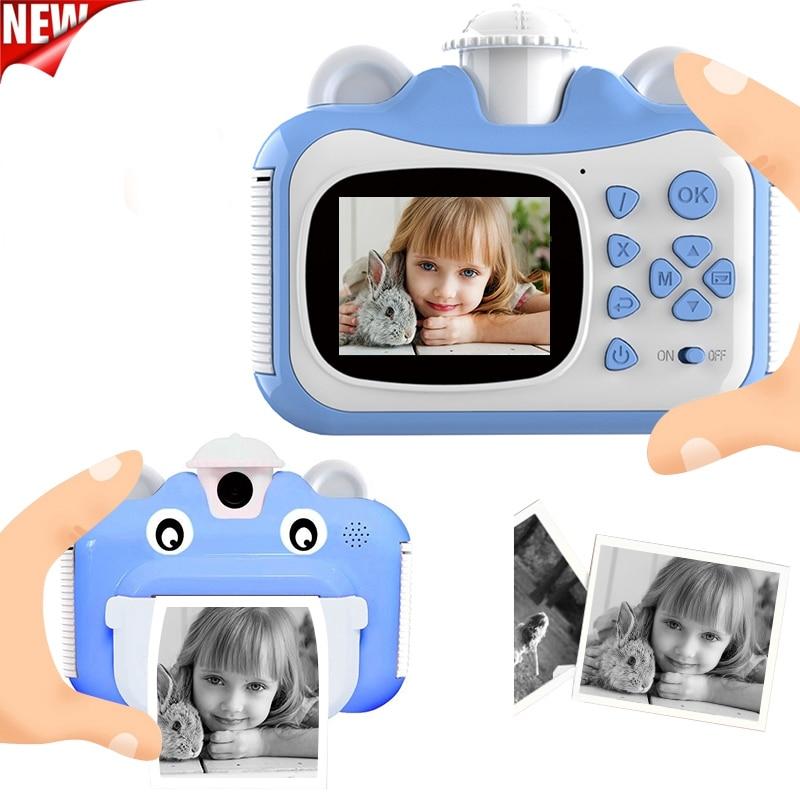 Pickwoo Kid Toy Mini Digital Cute Camera for Kids Baby Children's Photo Instant Print Camera Birthday Gift for Girls Boys