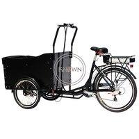 Multifuncional pedal/carga elétrica trike carrinho de comida móvel rua carga bicicleta comida quiosque com frete grátis por mar