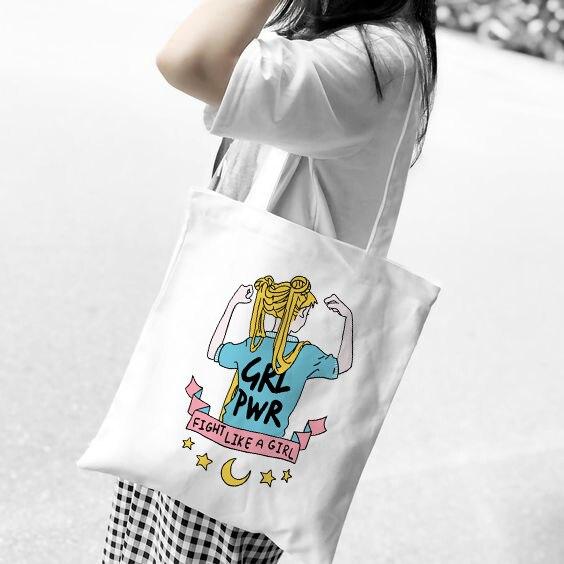 Lindo Bolso de compras la pereza Plegable Shopper Plegable Bolso Eco Chic Playa Reutilizable