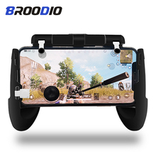 PUBG Moible Controller Gamepad Free Fire L1 R1 Triggers 5 in 1 PUBG Mobile Game Pad Grip L1R1 Joystick For iPhone Android Phone pubg mobile gamepad pubg controller for iphone android ios for phone l1r1 grip with joystick trigger l1r1 pubg fire buttons