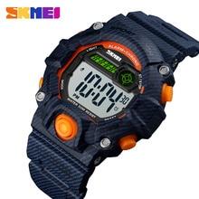 SKMEI Children Sports Watches Fashion LED Quartz Digital Watch Boys Girls Kids 50M Waterproof Outdoor Sport Wristwatches 1484 цена и фото