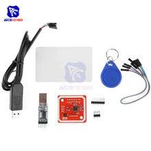 Diymore PL2303HX Download Kabel PL2303 USB zu TTL Modul PN532 NFC RFID Benutzer Kit Volle Verschlüsselung Kopie Reader Schriftsteller Modus IC Karte