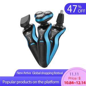 3 in 1 Electric Shaver 4D Floa