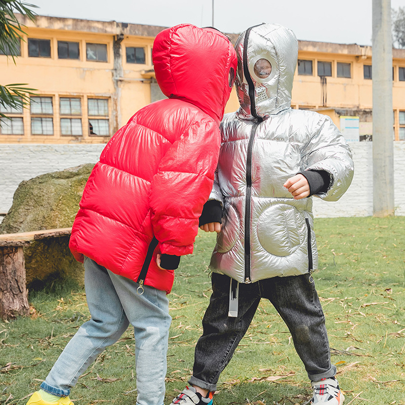 Winter Jacket Coat Girls Boys Kids Fashion And Cotton Zipper New-Arrival