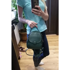 Image 2 - Mochila de couro feminina, nova mochila de couro feminina multifuncional com toque suave