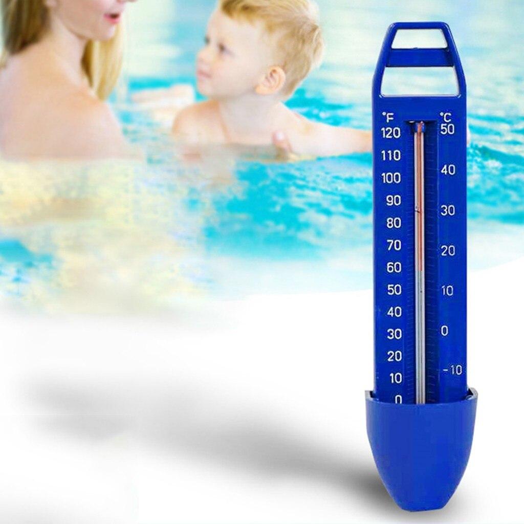 Housolution Term/ómetro para Piscina Cocodrilo Piscina SPA Medidor de Digital Port/átil Term/ómetro de Agua de Dibujos Animados de SPA Swaby Pool