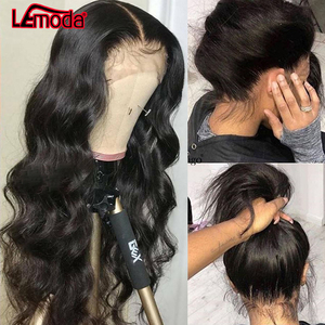 Perruque Full Lace Frontal Wig 360 Remy malaisienne-Body Wave | Perruques Lace Front Wig, cheveux naturels, pre-plucked, avec Baby Hair, pour femmes noires