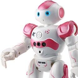 RC Robot Intelligente Programmering Afstandsbediening Robot Speelgoed Tweevoeter Humanoïde Robot Voor Kinderen Kids Verjaardagscadeau robot hond pet