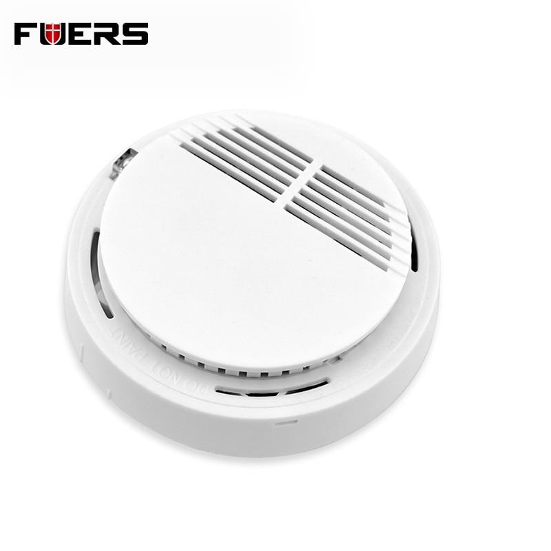 High Sensitive Security System Independent Smoke Detector Fire Home Safety Alarm Detecting Smoke Sensor
