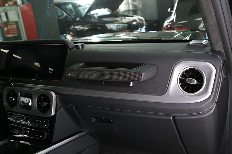 TongSheng for Mercedes Benz G Class w464 Copilot Storage Box w463A G350 G500 G63 G65 Driving Storage Box 2019-2020 Interior Accessories