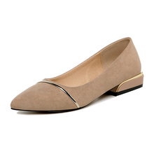 Shoes Woman Microfiber Pointed Toe Women Pumps Sexy Lady Shoes Low Heels 2.6 cm Fashion Women Shoes Slip-on Single Shoes 3-9306 fedonas new arrival gray pink women low heels casual shoes comfortable four season pointed toe loafers shoes woman