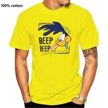T-Shirt Neu Looney Tunes Herren Wile E. Coca da strada Runner Del Fumetto t camicia degli uomini Unisex di Nuovo Modo