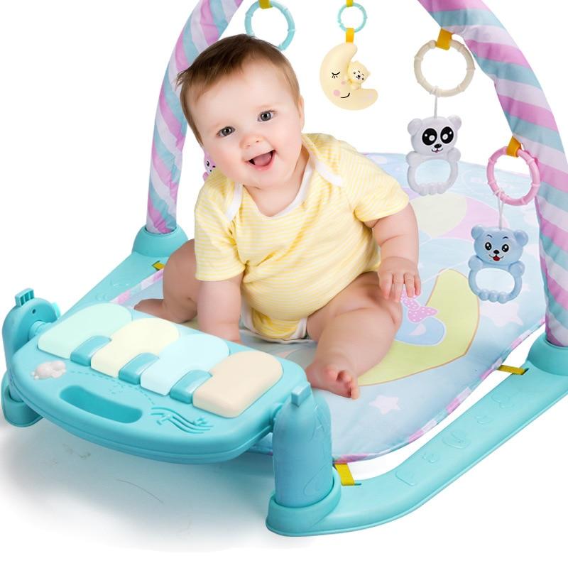 Harmonium Pedal Piano Baby 0-12 Month Early Childhood Music Game Mat Harmonium BABY'S Educational Mobile