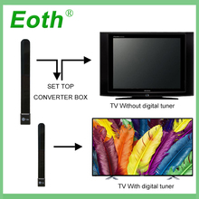 лучшая цена Eoth TV Stick Clear Smart TV Switch Antenna HDTV FREE Digital Indoor Antenna 1080p Ditch Cable Smart TV Stick Aerial