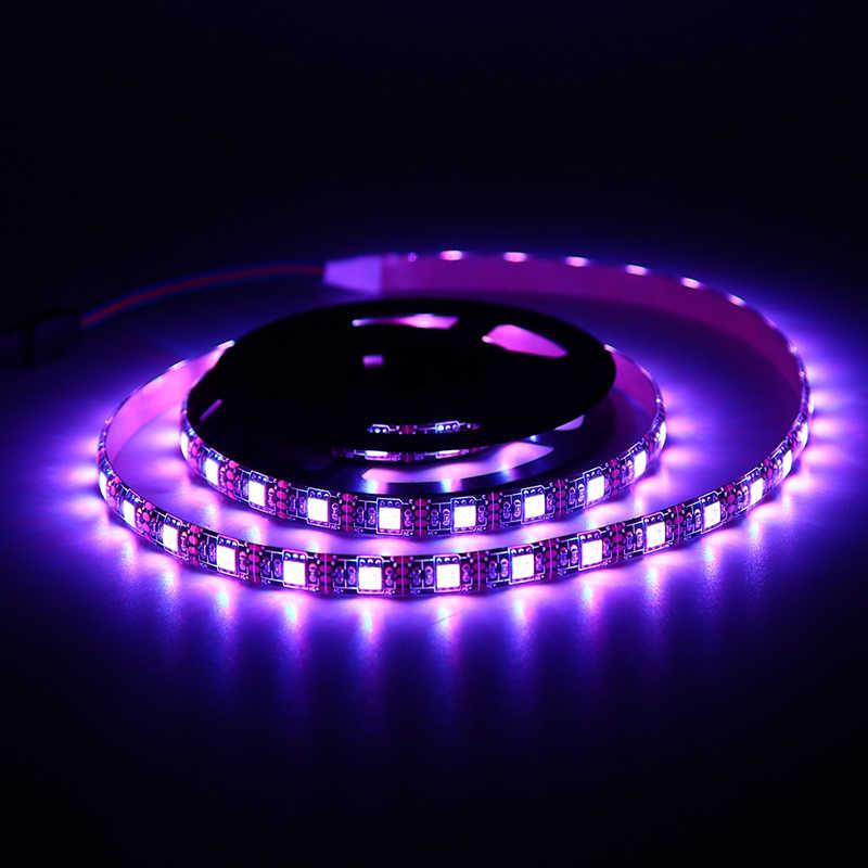 1pc bande LED usb lumière blanc TV rétro-éclairage lampe auto-adhésif Flexible ruban fil